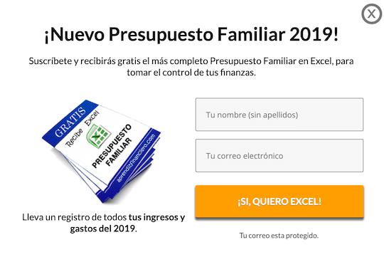 Ejemplo de Lead Magnet en español.