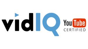 VidIQ certificado por Youtube