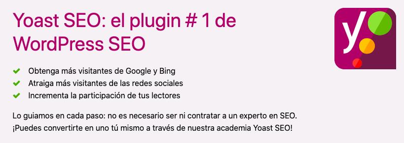Yoast SEO en español para WordPress