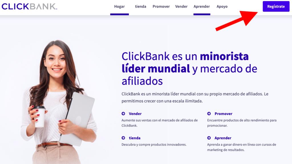ClickBank - Cómo crear cuenta
