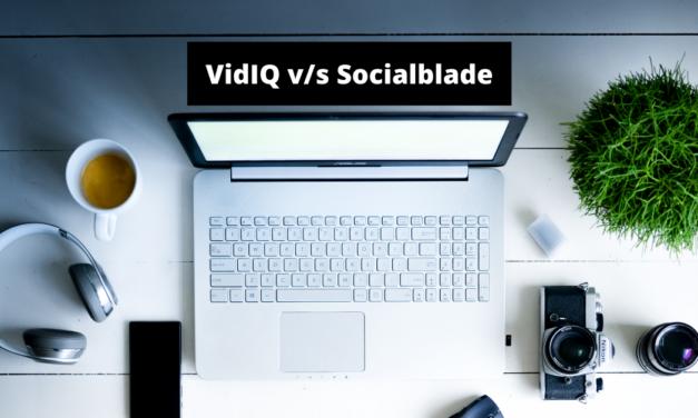VidIQ vs Socialblade en Español: Comparativa