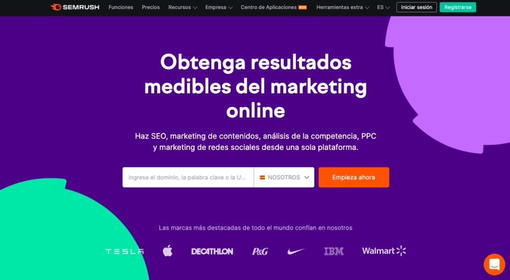 SEMrush en español herramienta para mejorar análisis y rendimiento en SEO