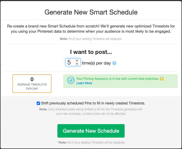 Tailwind generar horario de publicacion