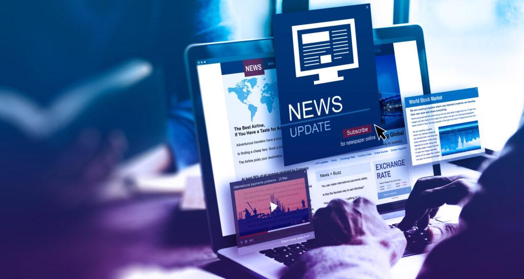 Noticias en un blog de empresa