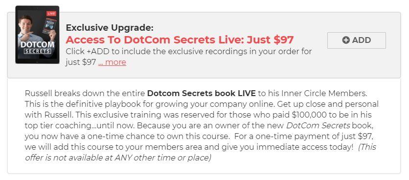 DotCom Secrets Evento en Vivo
